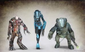 Alien Bio suits by Devin87