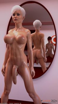 Clare-in-the-Mirror-003b by Clare3Dx