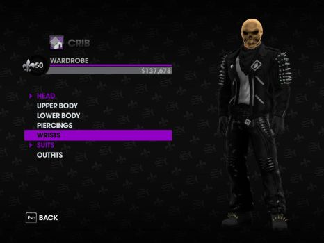 Ghost Rider in Saint's Row 3 by WardenoftheIronLegio
