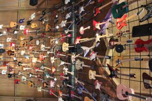 House of guitars at Hard Rock Cafe in Hawaii by JAFNOVA
