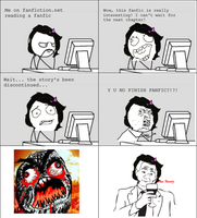 Rage Comic: Discontinued Fanfic by NinjaFalcon90