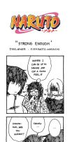 Naruto Doujinshi - Strong Enough by SmartChocoBear