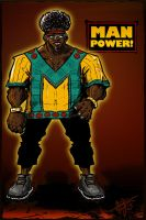 Man Power -OC- -color72 by ADE-doodles