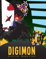 Digimon Art Deco by digitroy