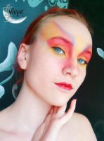 [Make-Up] Mushu by SunwardLight