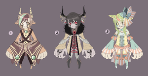 Adopts:: Varituri Fancyy CLOSED by Pandastrophic