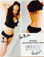 Miss Klingon Empire 2014 Bang'jaQ by The-1One