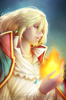 Howl's Moving Castle by MikiTakamoto