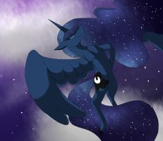 A Nighttime Flight by TheCrystalEevee