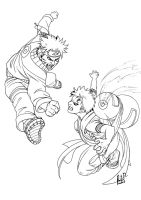 The Biggest Fight by ritam