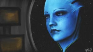 -Liara T'Soni- by Fiwen