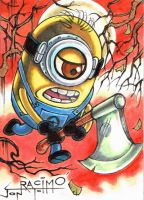 Minion 8  by joraz007