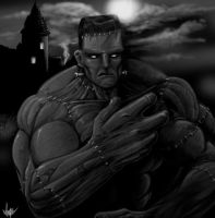 Frankenstein's Monster by BaneNascent