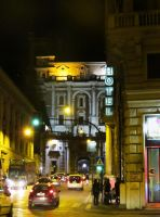 Rome at Night by ShipperTrish