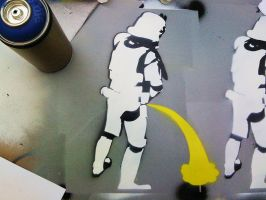 Drunk Stormtroopers by no0t