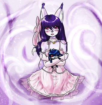 Gift for Yoru : by Moona-Luna