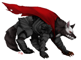 Guts from Berserk wolfy-fied for Tec finished by Curglaff