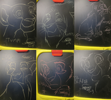 EtPR Chalk Drawings by Kobbzz