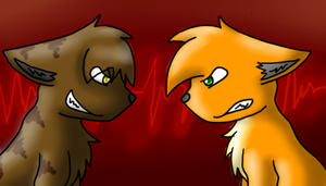 Tigerstar vs Firestar by TwilightTheEevee