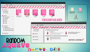 Random'Aquave ~ Iconpackager by a-Sonrix