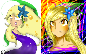 .:Transformation Over the Years:. by Orthgirl123