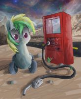 Gas Pump by SuperRobotRainbowPig