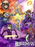 Epic Bibleman Poster by SonicClone