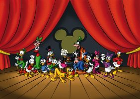 The Disney Family by Luisamd