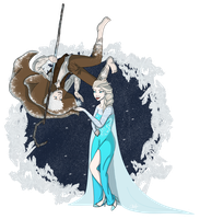 Jack and Elsa by Chouly-only