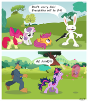 Meanwhile in Equestria.. by alcrd119