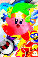 Kirby Wii: The Battle Begins by troisnyxetienne