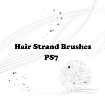 Hair Strands Brushes by Aree-Lulibub