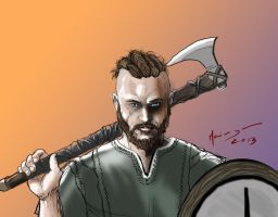 Ragnar Lothbrok by LordApep