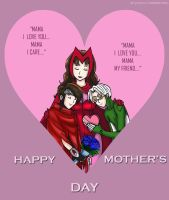Happy Mother's Day Wanda by Yuna-Bishie-Lover