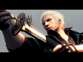 Vergil in DMC4 by awesomeaccount