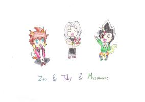 Zeo,Masamune and Toby Fox,Lyra and Unicorn Version by IperGiratina98