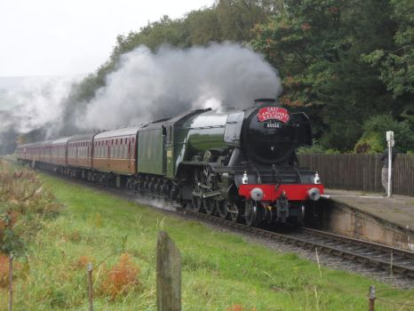 East Lancashire Railway: Flying Scotsman Returns by DaveOnTheRails