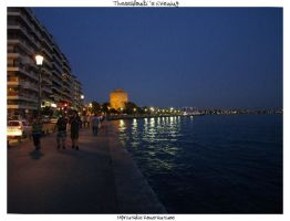 Thessaloniki's Evening I by Mprintochainis