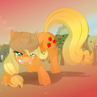 Angry Applejack by Big-Mac-a-Brony
