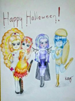 Happy Halloween! by KittyDazzling