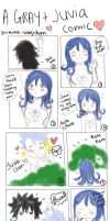 A Gray and Juvia comic by shiawase-usagichan