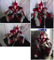 Transformers Knock out plush 2 by netheryl