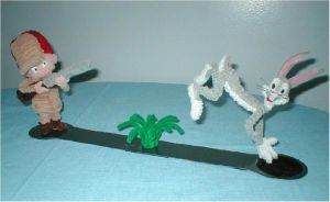 Pipe Cleaner Bugs n Elmer by fuzzymutt