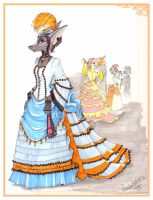 Victorian Lady Ratiries by lyx
