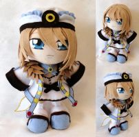 Commission, Mini Plushie Blanc by ThePlushieLady