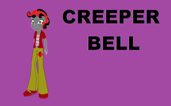 Creeper Bell by timelordderpy