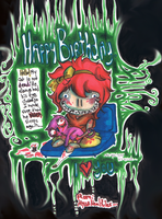 Birthday august 21 by RirooNeal