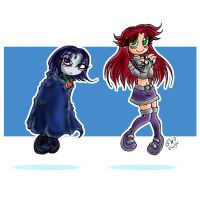 Teen Titans....Awwww... by GreenWiggly