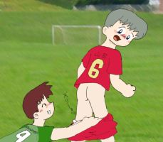 Soccer Accident by aki5