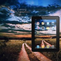 iPad Evening Wallpaper by Martz90
